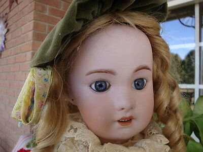 """Antique 20"""" BEBE Jumeau 230 Character French Doll"""