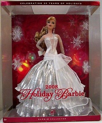 2008 Holiday Barbie Doll (New)