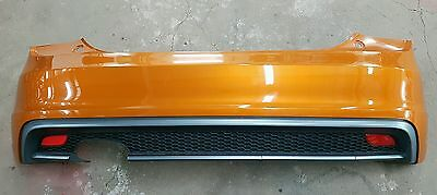 Audi A1 S Line 8X0 Complete Rear Bumper Orange 2010-2014