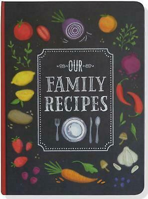 Our Family Recipes (English) Hardcover Book Free Shipping!
