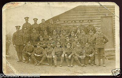 2021 - CANADA MILITARY 1910s WW1 Soldiers in Uniforms. Real Photo PC by Price