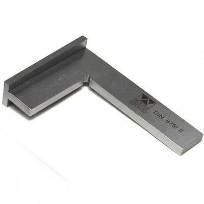 "Wezu 100mm (4"") Precision Wide Base Machinist Engineer Square"