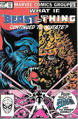 What If? Comic Book #37 Beast and Thing Marvel Comics 1983 NEAR MINT NEW UNREAD