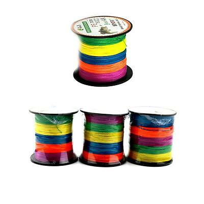 Pe Strong Dyneema 4Braided 300m Super Spectra Fishing Line 15LB-80LB 5Colors BY