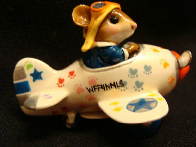"""Wee Forest Folk Special Color """"Paws"""" Pedal Plane"""