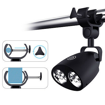 Black Magnetic Flexible 10LED Grill Light Outdoor BBQ Grill Light Handy Tool
