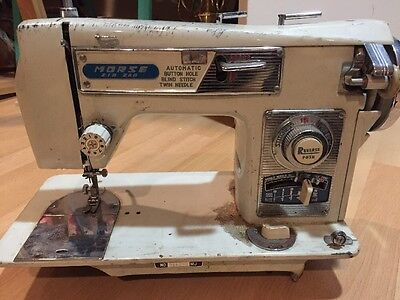 Vintage Sewing Machine Morse As Is Not Tested