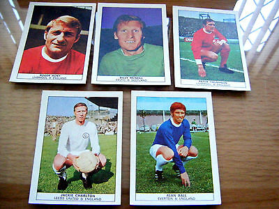 """5 Cards From Nabisco Foods   """"footballers"""""""