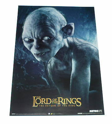 LORD OF THE RINGS Return of the king Original Cinema Film Poster 30x40cm Gollum