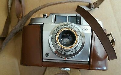 Vintage AGFA Silette 35mm CAMERA Pronto Lens with Case!