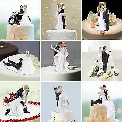 Wedding Cake Resin Toppers / Bride & Groom, LGBT - Choice of Design