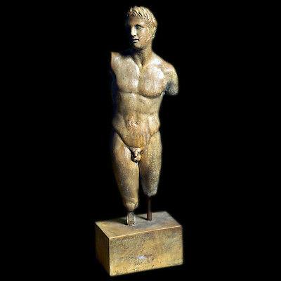 Alexander the Great Statue from Pella Museum in Macedonia