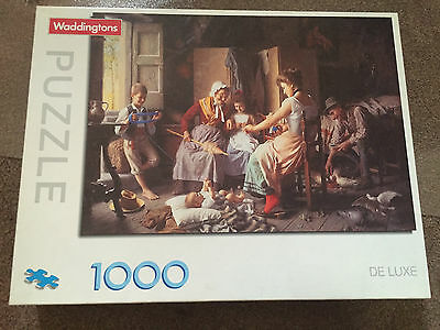 1000 Piece HAPPY FAMILY Jigsaw Puzzle by Waddingtons Complete