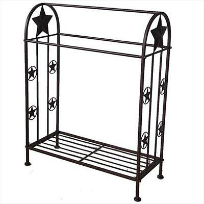 DeLeon Collections 21202 Quilt Rack with Stars