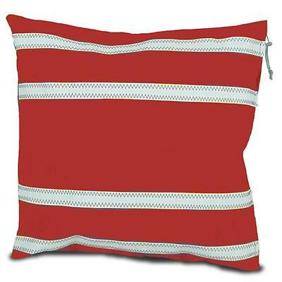 SailorBags 535-RW Casual Pillow Cover Red White