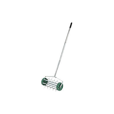 Draper Lawn Aerator With Rolling Spiked Drum Soil Conditioning Garden Hand Tool