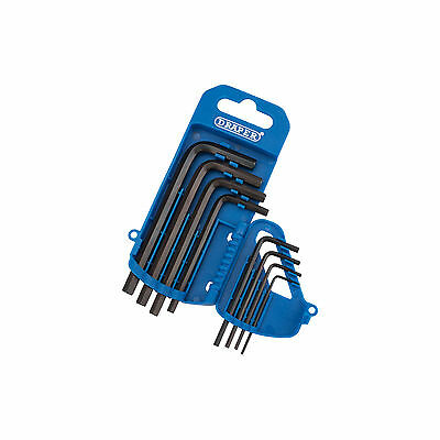 Draper Metric Hex Hexagon Allen Key Set Allan Alan Alen 1.5 - 6mm 8 Piece