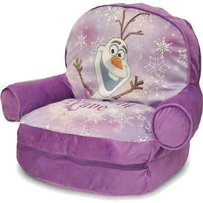 Disney Frozen Bean Bag with BONUS Slumber Bag, Purple