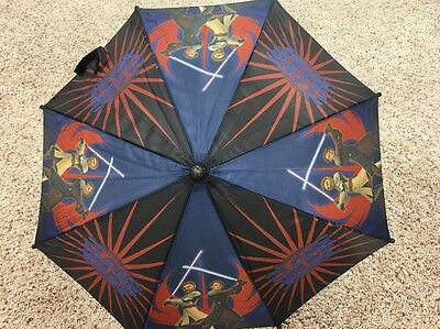 Star Wars The Clone Wars Youth/Kids Boys Umbrella Used Very Nice.