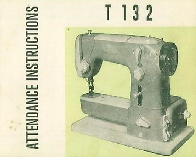 T132 Sewing Machine Instruction Manual BOOK