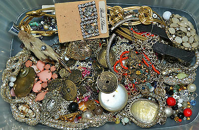 480g of Broken Jewellery Spares for Harvesting for Crafts or Jewelry Making (10)