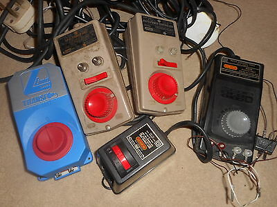 Collection of Controllers for Hornby OO Gauge - Spares / Repair