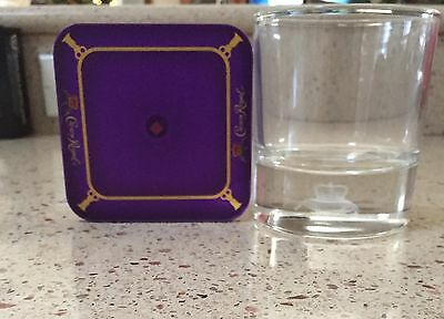 One Crown Royal Glass With Lighted Coaster. 2016 Collectors Edition. Never Used!