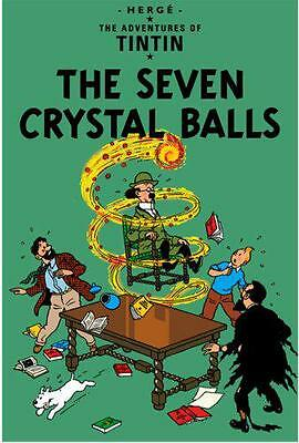 The Seven Crystal Balls (Adventures of Tintin), Herge | Hardcover Book | 9781405