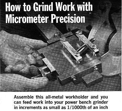 How To Make Precision Grinder Work Holder For Micrometer Precise Grinding #489