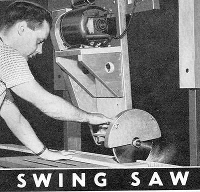 How To Make A Swing Saw To Crosscut Wide Boards Panels Woodworking Build #236