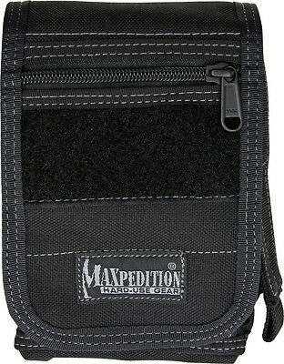 "Maxpedition MX316B H-1 Waistpack Black H-Series Hybrid Main: 6"" x 4"" x 2"""