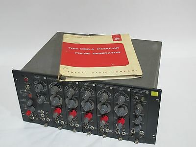 General Radio Type 1395-A Modular Pulse Generator with 1395 Plug-Ins