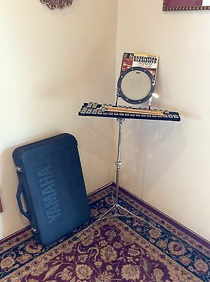 Yamaha 30 Key Xylophone With Stand, Mallets, Practice Drum, Hard Case & Book