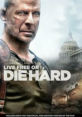 Live Free or Die Hard - DVD Region 1 Free Shipping!