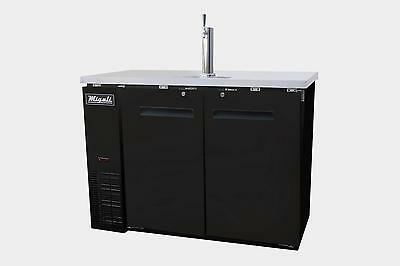 "Migali C-DD48-2 Migali 48"" 2  Door Back Direct Draw Beer Dispenser"