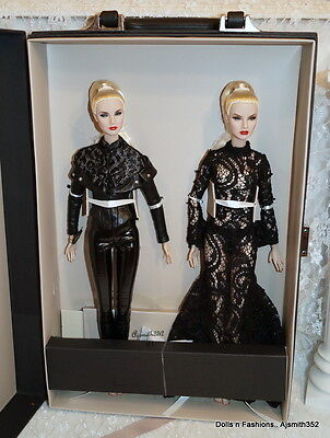 Sister Moguls Agnes Von Weiss & Giselle Diefendor Dressed Duo Doll Gift Set NRFB