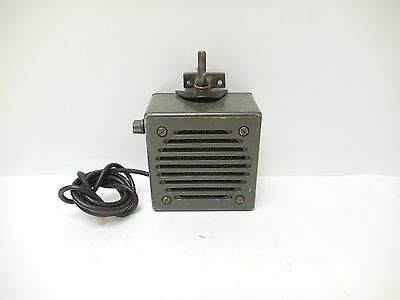 Military Dynamic Loudspeaker LS-166/U Vintage Radio Jeep Speaker 1964