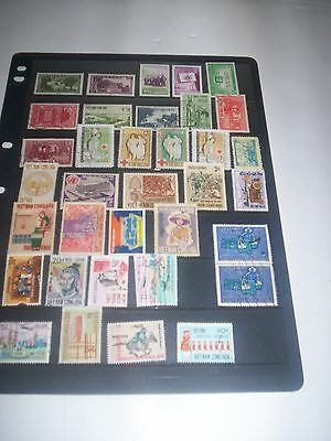 Vietnam Fantastic Lot of Stamps Removed from Albums VIE04Jan