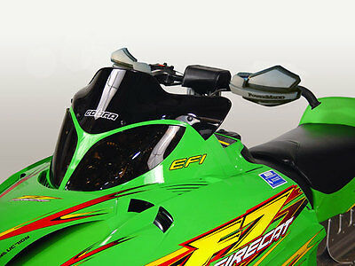 """Powermadd COBRA Snowmobile Windshield BLACK Arctic Cat M Series Extremely Low 7"""""""