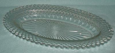 Anchor Hocking Miss America Oval Relish Dish