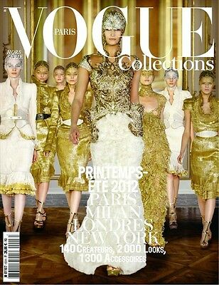 Fashion & Style PARIS VOGUE COLLECTIONS #13 Magazine 2012 Issue SPRING/SUMMER