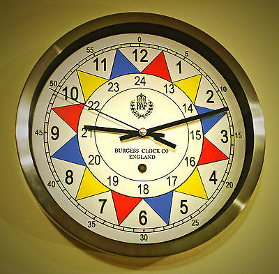 RAF Royal  Air Force Operation Room Sector Wall Clock, WW2 1940 Replica.