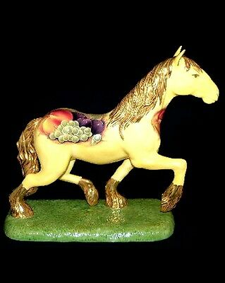 Aynsley Orchard Gold Limited Edition Horse Figurine