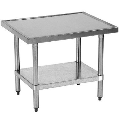 Globe XTABLE Stainless Mixer Table Top with Galanized Undershelf & Legs
