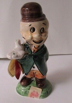 Vintage Carosello Warner Brothers Decanter Hand Painted In Italy Elmer Fudd