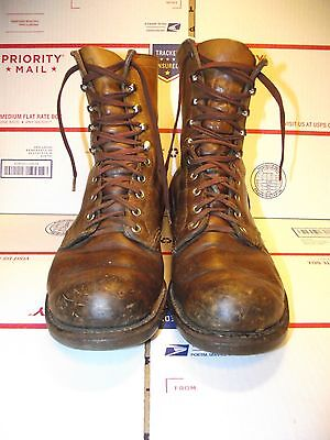 OLD Vintage Red Wing Boots CORK  7 1/2 EE WIDE 7.5