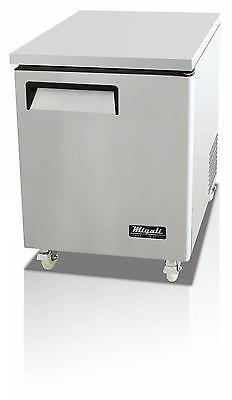 Migali 6.5 Cu.ft Ss Under-Counter Freezer One Solid Door - C-U27F