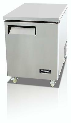 Migali C-U27F Migali 6.5 Cu.ft SS Under-counter Freezer One Solid Door