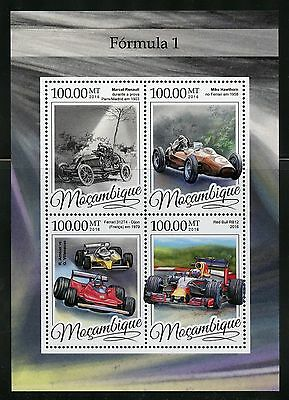 Mozambique 2016 Formula I  Sheet Mint Nh