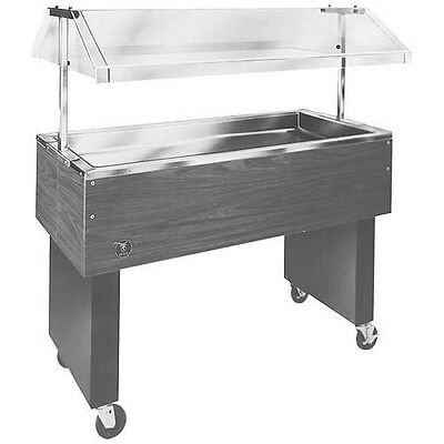 Eagle Group BPCP-2 Portable 2 Cold Pan Buffet Food Table